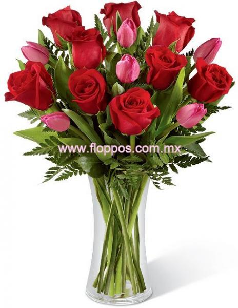 9 ROSAS Y TULIPANES